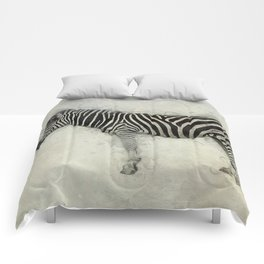 Zebra Art Comforters