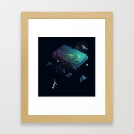 Constructing the Cosmos Framed Art Print