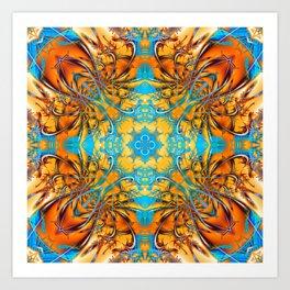 Mandala #4 Art Print