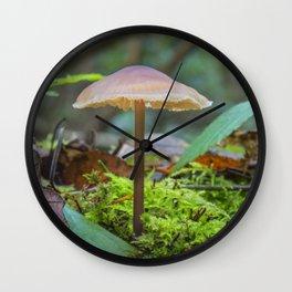Slender Fungi Wall Clock