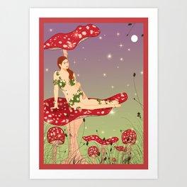 Midsummer Fairy Art Print
