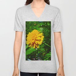 Goldquelle Coneflower Unisex V-Neck