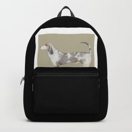 Cute Dog Dogs Doggy Puppy Photography Painting Backpack