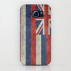 Flag of Hawaii, Retro Vintage Galaxy S7 Slim Case