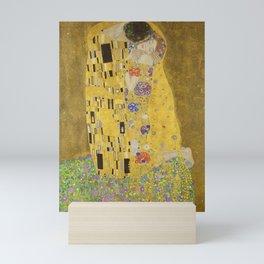The Kiss by Gustav Klimt Mini Art Print