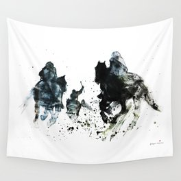 Horse (Movie scene) Wall Tapestry