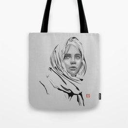 Jyn Erso: sketch-painting Tote Bag