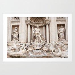Trevi Fountain II Art Print