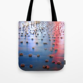 Reflections on the Hudson Tote Bag