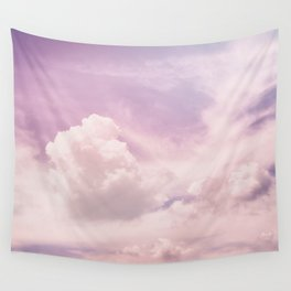 Upon The Clouds Wall Tapestry