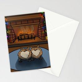 Cozy Corgi Christmas Stationery Cards