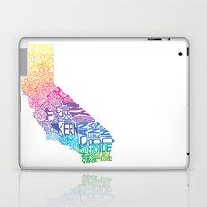 Typographic California - Springtime Laptop & iPad Skin