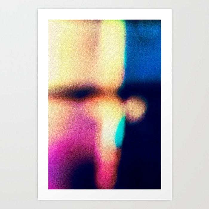 BLUR / flash Art Print