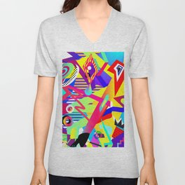 Bomb of Color Unisex V-Neck