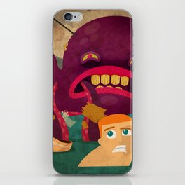 giant octopus iPhone Skin