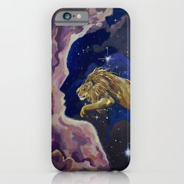Aslan Is On the Move iPhone Case