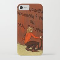 enjolras iPhone & iPod Cases featuring enjolras 1968 by Casimir Adiantum