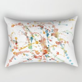 Action Painting #1 Rectangular Pillow