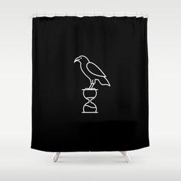 Raven Lodge Shower Curtain