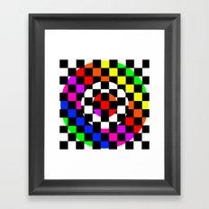 Triggle | Colorful Secret Geomoetry | Play Framed Art Print