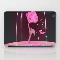 beauty and the beast iPad Cases featuring Beauty & the Beast Rose by Derek Boman