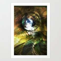 Potential for change Art Print