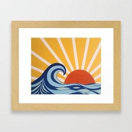 Let Your Sun Shine Framed Art Print