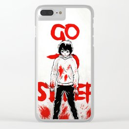 Jeff, The Killer Clear iPhone Case