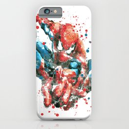 SPIDER-MAN SUPERHERO iPhone Case