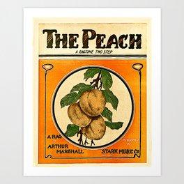 The Peach. A Ragtime Two Step Art Print