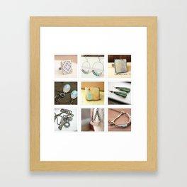 joc test  tote Framed Art Print