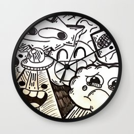 Colorless Movement Wall Clock