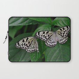 Large Tree Nymph Butterfly Laptop Sleeve