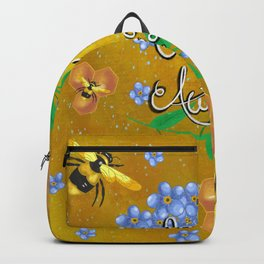 Bee awesome Backpack