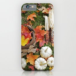 Gourds and Indian Corn 5 iPhone Case