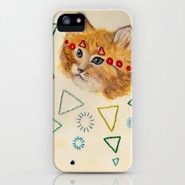 Sacred Cat iPhone Case