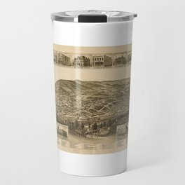 Aerial View of Harriman, Tennessee (1892) Travel Mug