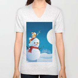 Join the spirit of Christmas Unisex V-Neck