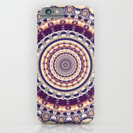 Abstractions in colors (Mandala) iPhone Case