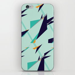 Geometric Zephyr iPhone Skin