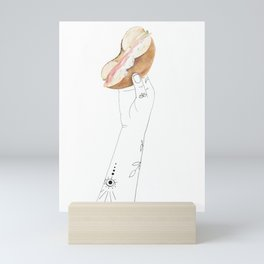 Power Bagel Mini Art Print