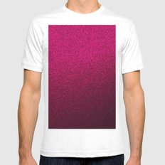 Pink Wall Colour Mens Fitted Tee White MEDIUM