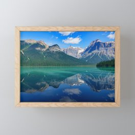 Landscape Panorama (Mountains & Water) Framed Mini Art Print