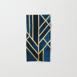 Art Deco Midnight Hand & Bath Towel