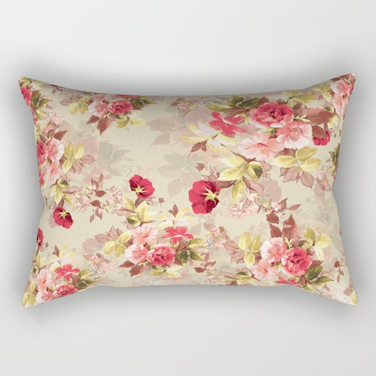 RED ROSE Rectangular Pillow
