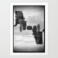 Landscapes (35mm Double Exposure) Art Print