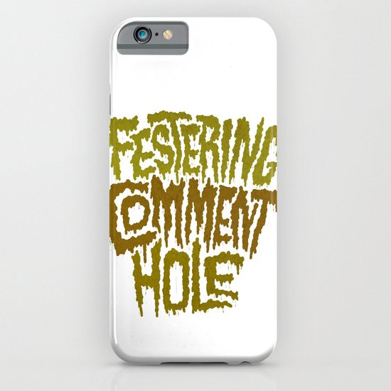 Festering Comment Hole iPhone & iPod Case