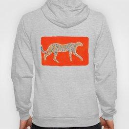 Leopard - Orange Hoody