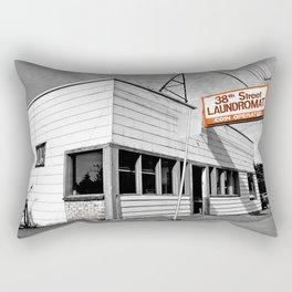 Corner laundromat Rectangular Pillow