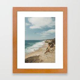 Crystal Cove, California Framed Art Print